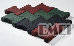 橡胶工字形地砖