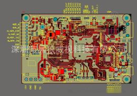 AHD编码器 模块支持AHD1080P摄像机 支持一路HDMI 输出