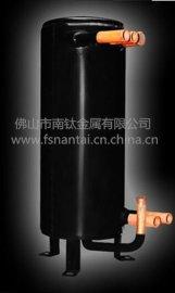 北方煤改电项目南钛金属铜高效罐换热器厂家不锈钢套管换热器跑道型换热器