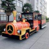 武汉逸驰42座电动观光小火车锂电池观光小火车