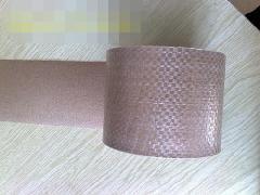 皱纹编织布复合纸-钢带包装