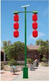 年货'红灯笼'太阳能景观灯