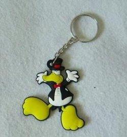 定制卡通鑰匙扣 硅膠卡通鑰匙扣 橡膠卡通鑰匙扣
