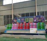 合适儿童游乐?10人排排座新型游乐场郑州航天游乐