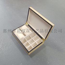 喷漆密度板烤漆橡胶木手表盒胡桃木桦木榉木手表木盒