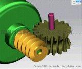 大扭力高速电动拖把拖地机静音减速箱设计