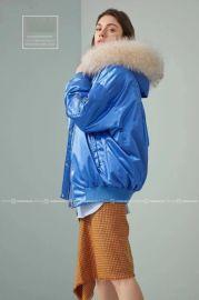 國內最新款N28歐版羽絨服品牌折扣女裝明浩直播貨源