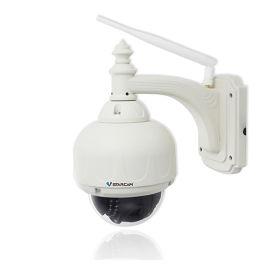 室外防水无线网络监控摄像头光学变焦球机