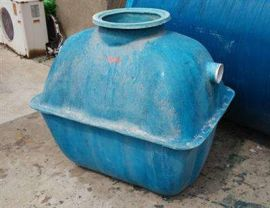 过滤化粪池标准图 化粪池 新型玻璃钢三格储水罐