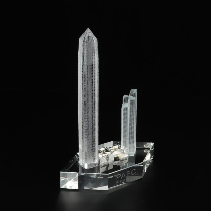 广州特色纪念品 企业员工表彰水晶奖杯奖牌