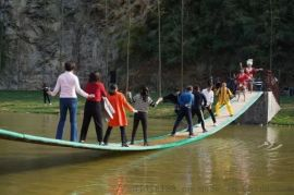 水上摇摆桥定制互动游戏道具