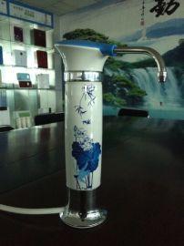 供应海蒂青花瓷能量台式净水器HDF-608