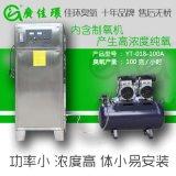 廠家供應茂名水處理設備100g氧氣源臭氧發生器