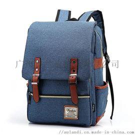 比较好的包包工厂男包的厂新款韩版双肩包男背包电脑包学院风