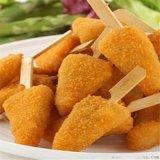 三角雞柳上糠機 雞柳條上糠機 三角雞柳裹糠設備