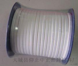 厂家供应聚四 乙烯密封带 单面带胶四 弹性带