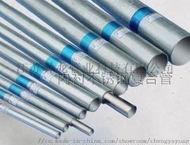 热水管材内衬不锈钢复合钢管