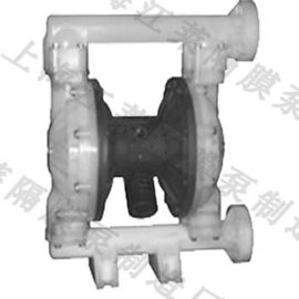 氟塑料气动隔膜泵(QBY3-50FF)