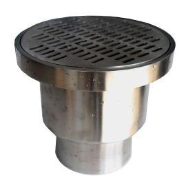 不锈钢双水封密闭地漏、条栅盖板直漏、U型内芯防止臭地漏