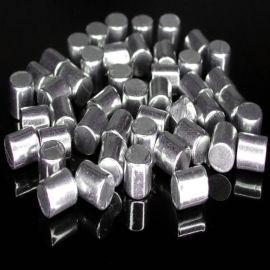 高纯铝粒金属颗粒铝块 脱氧铝粒铝段 99.999%