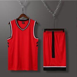 篮球服套装球衣篮球男篮球服定制跑步运动服无袖短裤速干龙舟夏季