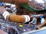 履带式管子加热器