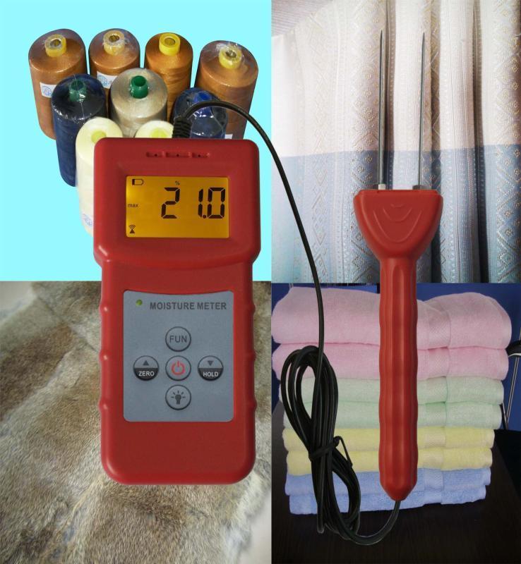 山东纺织原料水分仪,纺织原料水分测定仪MS-C