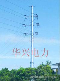 供应河北保定雄县金三角开发区35KV电力钢杆及钢管桩基础