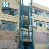 厂房简易升降货梯 铝合金移动式升降机 液压导轨式升降货梯