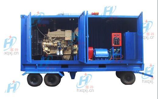 1000公斤工业换热器冷凝器高压管道清洗机
