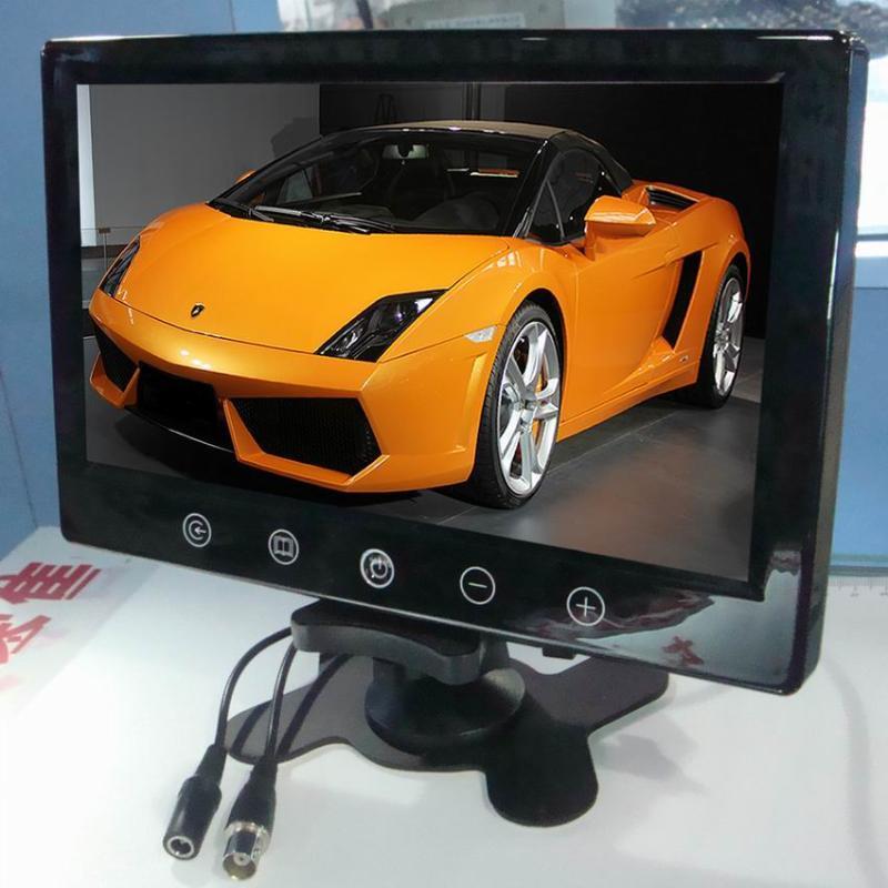 加尼鹰9寸TFT-LCD台式/头枕 液晶显示器 车载显示器 高清、高亮  BNC接口