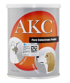 宠物用品代理AKC宠物牛初乳奶粉250g