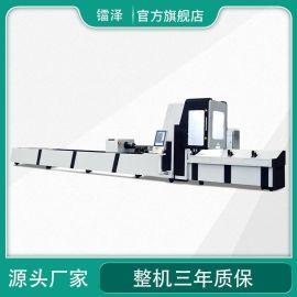 全自动光纤金属管材激光切割机 方管圆管切割机