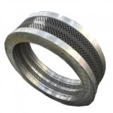 560顆粒機耐磨合金鋼環模模具 環模壓縮比成型好出料快