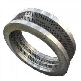 560颗粒机耐磨合金钢环模模具 环模压缩比成型好出料快
