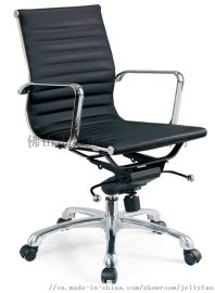 定做真皮办公椅 职员pu椅 牛皮转椅 职员转椅