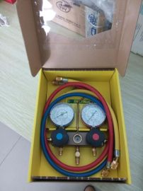 冷媒制冷剂双头压力表