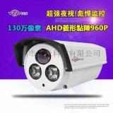 紫米 YZ-1002PL 130萬AHD同軸攝像機 監控攝像頭 菱形點陣
