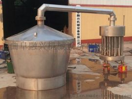 周口玉米蒸酒设备 白酒酿酒甄锅冷酒器图片