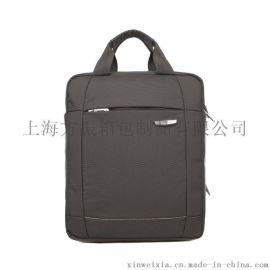 2020展會禮品上海箱包廠訂做單肩電腦包fzliu612