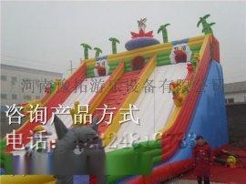 专业生产充气气模厂家提供游乐园充气滑梯大型设备