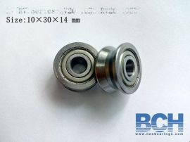 V型直线LV20/10/ZZ/ RV20-10/2RS非标V型轴承