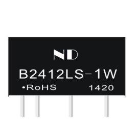 批发B2412S-2W隔离电源模块,24V转12V非稳压电源IC生产