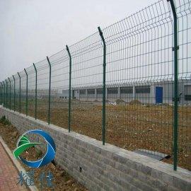 现货供应山地围网/双边丝护栏网河流防护网