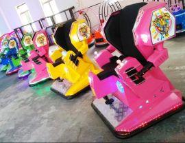 锐星儿童游乐设备电动变形车战火金刚侠行走车机器人