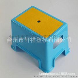 厂家直销 日常用品加厚塑料凳 欧式风格PP小方板凳 浴室防滑凳