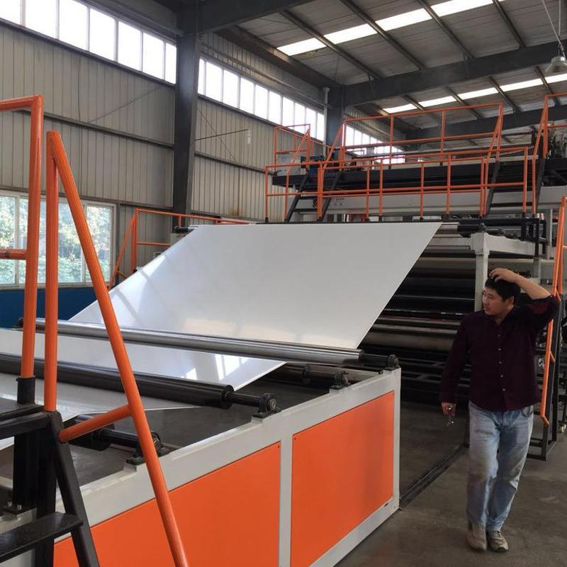 金韋爾TPO防水卷材生產線