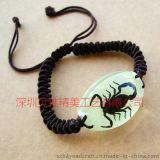 昆虫琥珀夜光手链饰品(IB16)