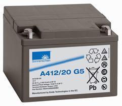 阳光A12/20G5蓄电池免维护UPS专用,