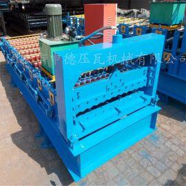 单板彩钢瓦机械设备小圆弧水波纹850型彩钢瓦压瓦机 金属成型机